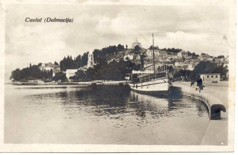 The beginnings of tourism in Cavtat
