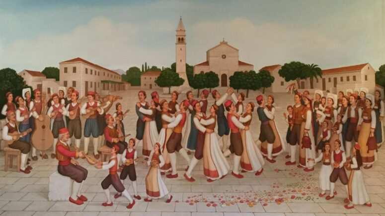Slike Mija Šiše Konavljanina u Zavičajnom muzeju Konavala